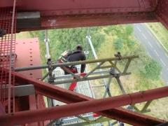 Viaduc de Garabit (également sur commune de Ruynes-en-Margeride) -  Travaux de rénovation du viaduc de Garabit