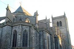 Cathédrale Saint-Pierre - Cathédrale Saint-Pierre-et-Saint-Flour de Saint-Flour (Cantal, France), construite de 1398 à 1466