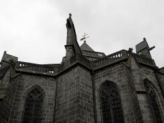 Cathédrale Saint-Pierre - Cathédrale Saint-Pierre de Saint-Flour (15). Extérieur.