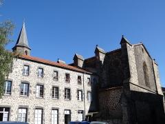 Ancienne église Saint-Vincent - Saint-Flour - Église Saint-Vincent vue de la rue des Jacobins