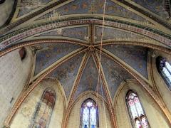 Ancienne église Saint-Vincent - Saint-Flour - Église Saint-Vincent - Voûtes de l'abside