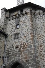 Beffroi appelé aussi Tour de l'horloge - Français:   Beffroi de Salers.