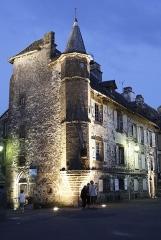 Maison de Flogeac - Français:   Maison de Flogeac à Salers.
