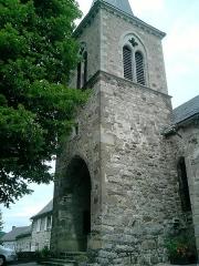 Eglise Sainte-Croix et Saint-Pierre -  15400 Marchastel, France