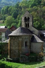 Eglise Saint-Pierre d'Ourjout - Français:   Eglise romane d\'Ourjout (fin XIe-début XIIe s.)
