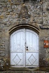 Ancien prieuré et remparts - Français:   Camon, Ariège (Midi-Pyrénées) - Porte de l\'église de l\'ancienne abbatiale de la Nativité de la Vierge
