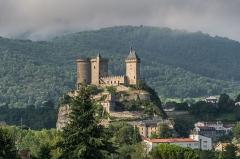 Château - English: Castle of Foix, Ariège, France