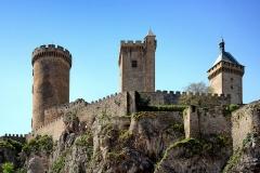 Château -  Foix, Ariège (Midi-Pyrénées) - Vue Nord-est du château