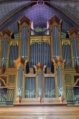 Eglise du Saint-Sacrement -  Laroque-d\'Olmes, Ariège - Orgue de l\'église du Saint-Sacrement
