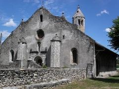 Eglise de Luzenac - Français:   Église de Luzenac