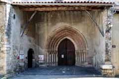 Ancienne cathédrale et cloître -  Saint-Lizier, Ariège (Midi-Pyrénées) - Portail de l\'ancienne cathédrale