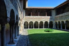 Ancienne cathédrale et cloître -  Saint-Lizier, Ariège (Midi-Pyrénées) - Cloître de l\'ancienne cathédrale