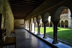 Ancienne cathédrale et cloître -  Saint-Lizier, Ariège (Midi-Pyrénées) - Cloître de l'ancienne cathédrale