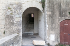 Maison à pans de bois du 16e siècle, dite maison Loubières -  Old city gate , XIth centurry
