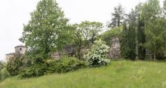 Murailles gallo-romaines -   Roman wall tower  (IIIth century).