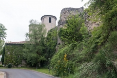 Murailles gallo-romaines -  Roman ramparts on which is based the Cathedral Notre-Dame de Séde.
