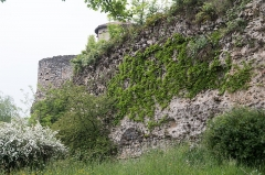 Murailles gallo-romaines -   Curtain wall (IIIth century).