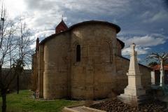 Eglise Sainte-Suzanne - Français:   Église Sainte-Suzanne de Sainte-Suzanne,  (Classé, 1989)