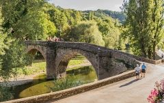 Vieux Pont - English:  Vieux Pont in Belcastel, Aveyron, France