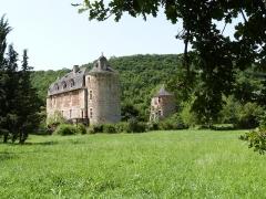Château de Saint-Julien d'Empare - Français:   Château de Saint-Julien d\'Empare (Inscrit)