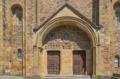 Ancienne abbaye Sainte-Foy - English: Portal of the Saint Faith Abbey Church of Conques, Aveyron, France        This place is a UNESCO World Heritage Site, listed as Chemins de Saint-Jacques-de-Compostelle en France.  العربية | Asturianu | Беларуская | Беларуская (тарашкевіца) | বাংলা | Català | Čeština | Dansk | Deutsch | English | Español | Euskara | فارسی | Français | עברית | Hrvatski | Magyar | Italiano | 日本語 | 한국어 | Latviešu | Македонски | മലയാളം | مازِرونی | Nederlands | Polski | Português | Русский | Slovenčina | Slovenščina | Türkçe | Українська | Tagalog | Tiếng Việt | 中文(简体) | 中文(繁體) | +/−          This building is classé au titre des Monuments Historiques. It is indexed in the Base Mérimée, a database of architectural heritage maintained by the French Ministry of Culture, under the reference PA00093999 .  বাংলা | brezhoneg | català | Deutsch | Ελληνικά | English | Esperanto | español | euskara | suomi | français | magyar | italiano | 日本語 | македонски | Nederlands | português | português do Brasil | română | русский | sicilianu | svenska | українська | +/−