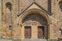 Ancienne abbaye Sainte-Foy - English: Portal of the Saint Faith Abbey Church of Conques, Aveyron, France       This place is a UNESCO World Heritage Site, listed as Chemins de Saint-Jacques-de-Compostelle en France.  العربية| Asturianu| Беларуская| Беларуская (тарашкевіца)| বাংলা| Català| Čeština| Dansk| Deutsch| English| Español| Euskara| فارسی| Français| עברית| Hrvatski| Magyar| Italiano| 日本語| 한국어| Latviešu| Македонски| മലയാളം| مازِرونی| Nederlands| Polski| Português| Русский| Slovenčina| Slovenščina| Türkçe| Українська| Tagalog| Tiếng Việt| 中文(简体)| 中文(繁體)| +/−         This building is classé au titre des Monuments Historiques. It is indexed in the Base Mérimée, a database of architectural heritage maintained by the French Ministry of Culture,under the reference PA00093999 .  বাংলা| brezhoneg| català| Deutsch| Ελληνικά| English| Esperanto| español| euskara| suomi| français| magyar| italiano| 日本語| македонски| Nederlands| português| português do Brasil| română| русский| sicilianu| svenska| українська| +/−