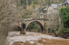 Pont sur le Dourdou, du 14s - English: Roman Bridge over Dourdou River in Conques, Aveyron, France        This place is a UNESCO World Heritage Site, listed as Pont sur le Dourdou, Conques; sous le n° 868-039.  العربية | Asturianu | Беларуская | Беларуская (тарашкевіца) | বাংলা | Català | Čeština | Dansk | Deutsch | English | Español | Euskara | فارسی | Français | עברית | Hrvatski | Magyar | Italiano | 日本語 | 한국어 | Latviešu | Македонски | മലയാളം | مازِرونی | Nederlands | Polski | Português | Русский | Slovenčina | Slovenščina | Türkçe | Українська | Tagalog | Tiếng Việt | 中文(简体) | 中文(繁體) | +/−          This building is inscrit au titre des Monuments Historiques. It is indexed in the Base Mérimée, a database of architectural heritage maintained by the French Ministry of Culture, under the reference PA00094000 .  বাংলা | brezhoneg | català | Deutsch | Ελληνικά | English | Esperanto | español | euskara | suomi | français | magyar | italiano | 日本語 | македонски | Nederlands | português | português do Brasil | română | русский | sicilianu | svenska | українська | +/−