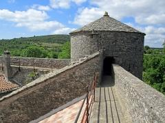 Anciens remparts - Français:   Anciens remparts à La Couvertoirade, Aveyron, France