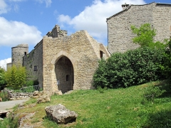 Anciens remparts - Anciens remparts à La Couvertoirade , Aveyron, France