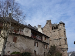 Ancien palais de justice - Català: Façana vora riu de l'antic palau de justícia (Espaliu)