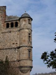 Ancien palais de justice - Català: Torreta d'angle de l'antic palau de justícia (Espaliu)