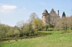 Château de Selves - English: Château de Selves, Conques-en-Rouergue, Aveyron, France
