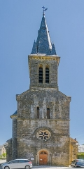 Eglise - English: Saint Peter Church of Pierrefiche, Aveyron, France
