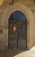 Eglise de Lagnac - English: Portail of church in Lagnac, Rodelle, Aveyron, France