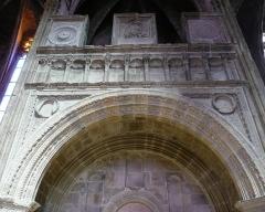 Cathédrale Notre-Dame - Rodez (Aveyron, France), cathédrale Notre-Dame de l'Assomption, intérieur.