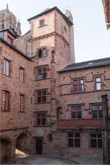 Maison de Benoit -  Tower of the staircase..