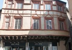 Maison -  House Trouillet, 15° siècle.