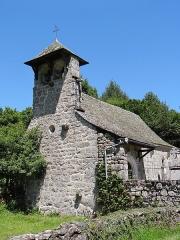Chapelle de Mels - Français:   Sainte-Geneviève-sur-Argence - Chapelle de Mels - Vu du clocher