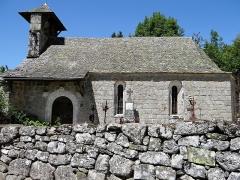 Chapelle de Mels - Français:   Sainte-Geneviève-sur-Argence - Chapelle de Mels - Ensemble