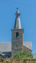 Ancien couvent des Pénitents - English: Bell tower of the chapel of the Penitents of Saint-Geniez-d'Olt, Aveyron, France
