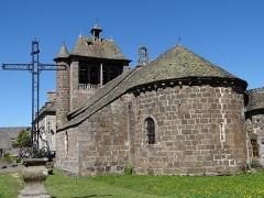 Eglise Notre-Dame - Français:   Thérondels - Église Notre-Dame - Chevet et clocher