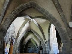 Eglise Notre-Dame - Français:   Thérondels - Église Notre-Dame - Collatéral nord