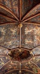 Chapelle des Pénitents Noirs - Français:   Villefranche-de-Rouergue (Occitanie, France). Plafond de la chapelle des Pénitents noirs.