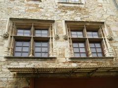 Maison voisine de la porte de ville carrée - Français:   Maison (Inscrit)