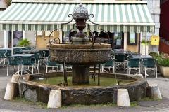Fontaine - English: Fountain of Aspet, Haute-Garonne, France.