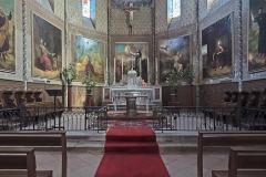 Eglise Saint-Bernard - English:  Bourg-Saint-Bernard, Haute-Garonne, France. St Bernard church, altar.