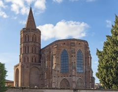 Eglise - English:  The St. Bartholomew's Church Daux, Haute-Garonne France.