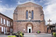 Eglise - English:  Fronton, Haute-Garonne, France. Facade of the church