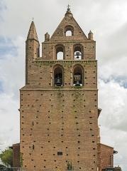 Eglise Saint-Jean-Baptiste - English:  Garidech, Haute-Garonne, France. The bell gable of church St. John the Baptist built in 1557.