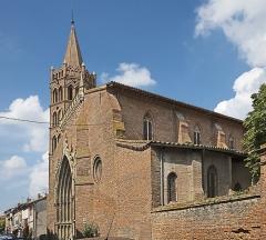 "Eglise Notre-Dame de l'Assomption - English:  Grenade, Haute-Garonne, France. Facade of the church ''Église Notre-Dame de l'Assomption""""."